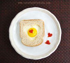 Desayuno para San Valentín. DIY