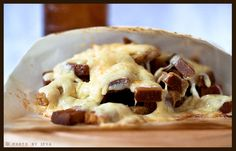 Kepta Duona - had this in Lithuania and it is to die for. Must. Make. Some. Fried bread, garlic, mayo, cheese.