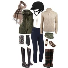 """Playing Around with Fall Colors"" by high-standards on Polyvore"