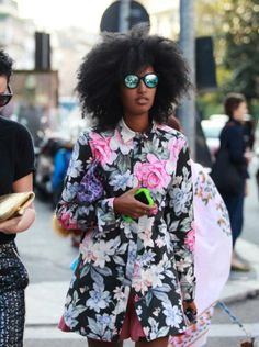 floral coat for fall