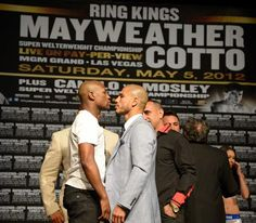 Mayweather vs Cotto Press Conference in Las Vegas