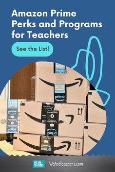 There are so many Amazon Prime perks can use, in the classroom or at home! Plus, learn about other Amazon programs for educators. Discounts For Teachers, Best Teacher, Whats New, Teaching English, Good Advice, Lesson Plans, Need To Know, Classroom