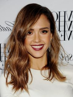 Jessica Alba Hair Color 2015 Medium Hairstyles with Brown Hair Color