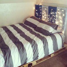 My new DIY bed. (Taken with Instagram)