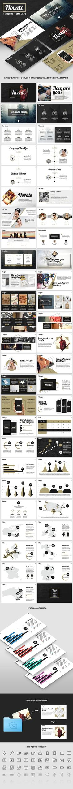 NOVATE - Creative Keynote Presentation Template. Download here: http://graphicriver.net/item/novate-creative-keynote-presentation-template/15955012?ref=ksioks