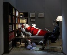 Moschino Store Christmas Window  so funny
