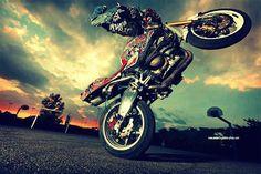 #stunt #motorcycyle #photography #fisheye