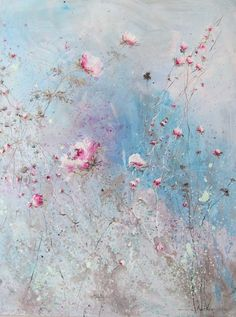 fabulous floral painting by Laurence Amelie