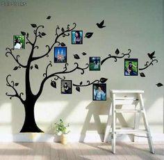 Vinilo Pared Arbol De Fotos Decoración Wall Stickers - $ 320,00