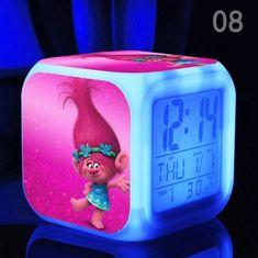 Dreamworks Trolls Princess Poppy Best Bedroom Alarm Clock