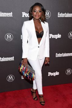 Actress Naturi Naughton attends the Entertainment Weekly & People Upfronts party 2016 at Cedar Lake on May 16, 2016 in New York City.