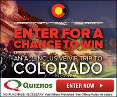 Enter to Win a VIP Trip to Colorado