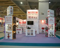 Prestige Exhibition Stand for Sudocrem at the Pharmacy Show