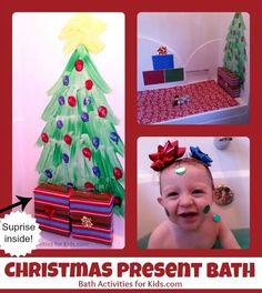 Christmas Present Bath