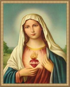Obraz s rámem 70x100 - Panna Marie (6809840557) - Aukro - největší obchodní portál