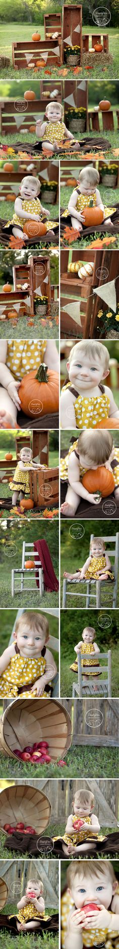 Fall mini session - this is adorable