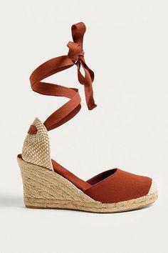 UO Erin Espadrille Wedge Sandals