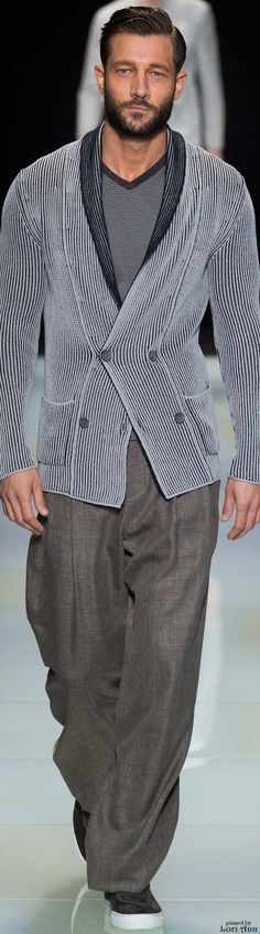 Giorgio Armani Spring 2016 | Men's Fashion | Menswear | Moda Masculina | Shop at designerclothingfans.com