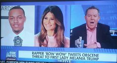 THIS LITTLE PUNK BITCH BOW WOW TWEETS SHIT ABOUT OUR FIRST LADY MELANIA YOUR A PUNK BOW WOW AND YOUR CAREER IS OVER BITCH