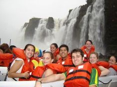Travel to South America & Tour Iguazu Falls, the most stunning waterfalls in the world. Iguazu Falls Tours will connect you with wildlife & adventure. Iguazu Falls, Boat Tours, Waterfalls, Niagara Falls, Brazil, Sailing, Wildlife, The Incredibles, Feelings