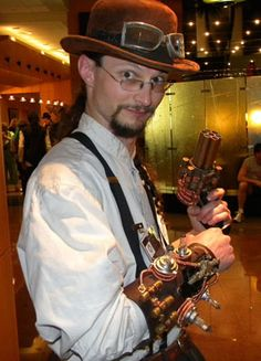 The Steampunk Inventor Costume