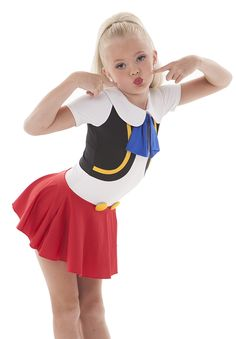 Pinocchio dance costume. Great option for a Halloween costume, too!