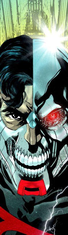 Cyborg Superman by Miguel Sepulveda