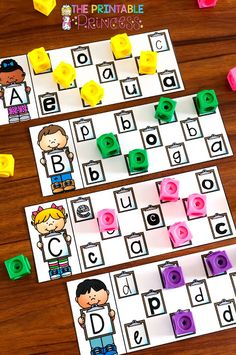 Alphabet Activities for Kindergarten - Letters, Mazes, & Lots of FUN! Abc Centers, Kindergarten Centers, Preschool Literacy, Preschool Letters, Kindergarten Activities, Letter Recognition Kindergarten, Activities For 1st Graders, Alphabet Activities Kindergarten, Abc Activities