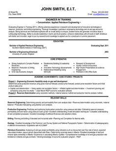Engineering Resume Templates Samples