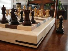 An engineering based builder of premium grade solid-hardwood chess boards. Driven by the singular goal of producing the very finest chess products, the boards are completely hand fabricated in New England with remarkable precision and attention to detail.