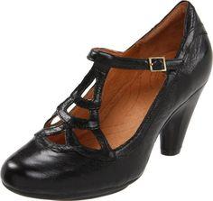 Amazon.com: indigo by Clarks Women's Plush Weave T-Strap Pump: Shoes