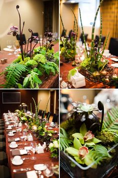 Wedding flowers using local blooms; floral design by Flora Nova, photo by The Popes