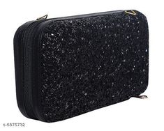 Clutches Stylish Imported Women's Clutches Material: Synthetic Pattern: Embellished Multipack: 1 Sizes:  Free Size (Length Size: 8 in Width Size: 1 in)  Country of Origin: India Sizes Available: Free Size *Proof of Safe Delivery! Click to know on Safety Standards of Delivery Partners- https://ltl.sh/y_nZrAV3  Catalog Rating: ★4.1 (3565)  Catalog Name: Fancy Trendy Women Clutches CatalogID_1097572 C73-SC1078 Code: 103-6875732-