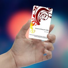 Gold & Red Foil on your #BusinessCard... With out Multi Color #Foil category, u can have unlimited Foil Colors... #PersonalizedCreativity @inkgility