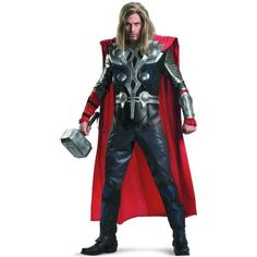The Avengers Thor Elite Adult Costume - Click image twice for more info - See a larger selection of kids halloween costume at http://costumeriver.com/product-category/kids-halloween-costumes/ -  holiday costume , event costume , halloween costume, cosplay costume, classic costume, scary costume, super heroes costume, classic costume, clothing