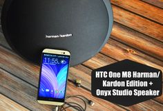 HTC One M8 Harman Kardon Edition with Onyx Studio Speaker #SprintMom #MC #Sponsored