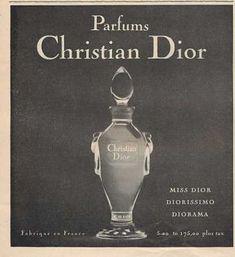 Christian Dior Parfum Perfume Bottle (1959)