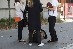 Céline, Celine, streetstyle after the Céline ss2015 show Paris fashionweek, bags, shoes,