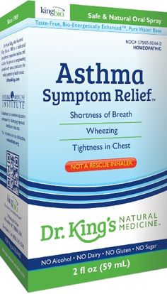 Dr. King's Natural Medicine Asthma Symptom Relief, 2 Fluid Ounce: Health & Personal Care