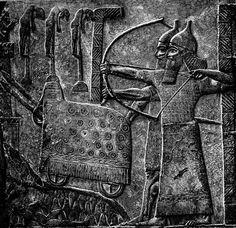 Representación del ejército de Asiria