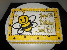 Bumble Bee Sheet Cakes
