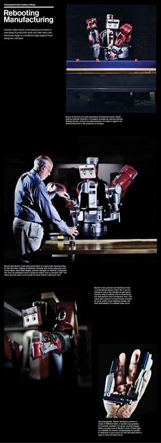 Baxter the robot learns by demonstration and could revolutionize the manufacturing industry.