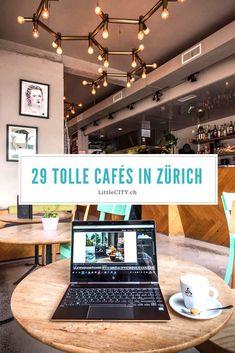 29 tolle Café Tipps für Zürich zum Arbeiten, Lernen, Plaudern oder einfach Verweilen. Travel Advisory, Reisen In Europa, Zurich, Oh The Places You'll Go, Switzerland, Short Holidays, Vacation, City, Tricks