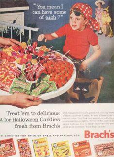 Brach's Halloween candy (1962)