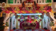 Flowers Decoration, Stage Decorations, Wedding Mandap, Places To Visit, Fair Grounds