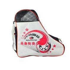 Skate Carry Bag Skate Roller Bag Roller Derdy Tote Ice Skate Sack Red, L