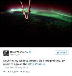 Astronaut's Tweets From Space Show That It's The Best Job In The World (10  Pics)