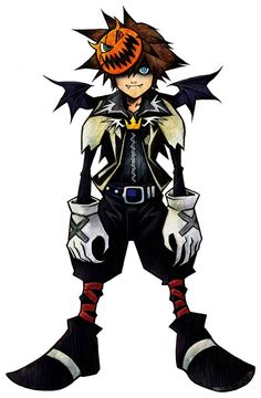 Kingdom Hearts: Sora (Halloween Town). Possibly my favorite world to explore in…