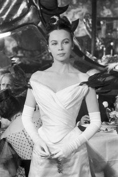 Leslie Caron as Gigi, 1957