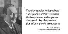 Le titre définit le régime : la camaraderie prévaut. La #politique devient à la fois un métier et un jeu...